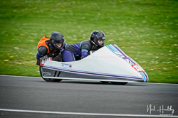 Hayley Christie and Matthew Sims at NG Road Racing, Donington Park, Leicestershire, May 2019. Photo: Neil Houltby