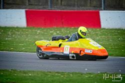 Joe Heys and Gary Wheeler at NG Road Racing, Donington Park, Leicestershire, May 2019. Photo: Neil Houltby