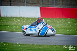 Billy Pearson and Jody James at NG Road Racing, Donington Park, Leicestershire, May 2019. Photo: Neil Houltby