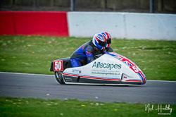Jody Sims and Reece Sims at NG Road Racing, Donington Park, Leicestershire, May 2019. Photo: Neil Houltby