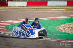 Andy Thomas and Joanne Thomas at NG Road Racing, Donington Park, Leicestershire, May 2019. Photo: Neil Houltby